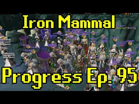 Oldschool Runescape - 2007 Iron Man Progress Ep. 95 | Iron Mammal