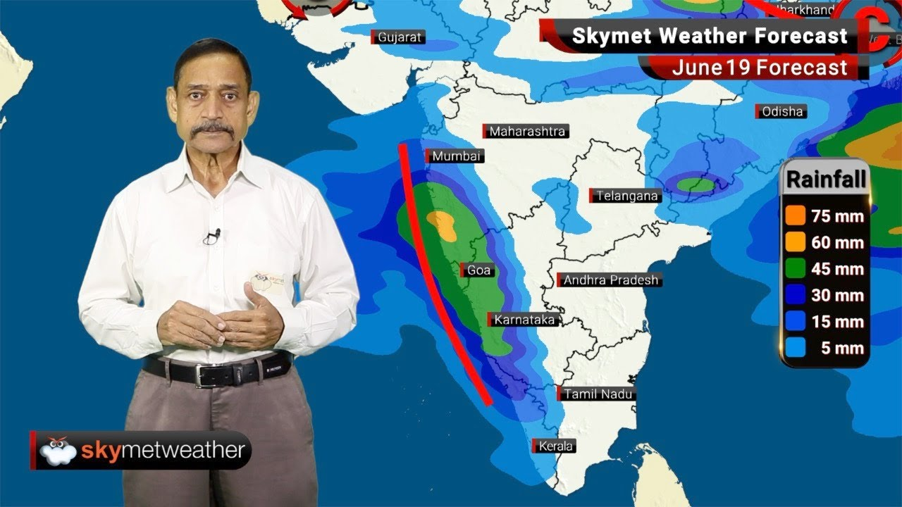 Weather Forecast June 19: Monsoon advance further over Gujarat and UP, heavy rainfall over west UP