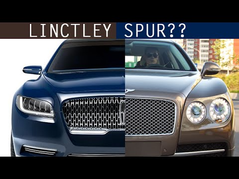 is the lincoln continental concept a bootleg bentley new york auto show youtube. Black Bedroom Furniture Sets. Home Design Ideas