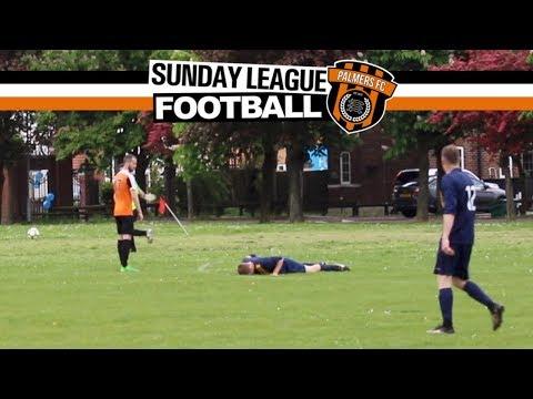 Sunday League Football  MAN DOWN