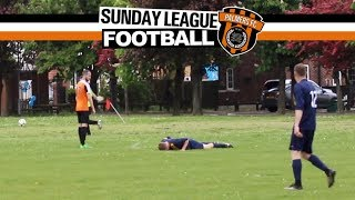 Sunday League Football - MAN DOWN