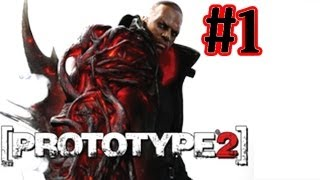 Prototype 2 Walkthrough Part 1 Infected - Xbox 360 Gameplay- Let