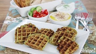 Waffle It! How To Make Waffled Falafel