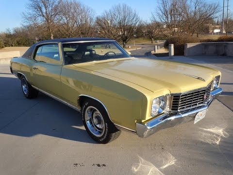 RARE 1972 CHEVY MONTE CARLO  ALL NUMBERS MATCHING 402 BIG BLOCK CAR     RARE 1972 CHEVY MONTE CARLO  ALL NUMBERS MATCHING 402 BIG BLOCK CAR