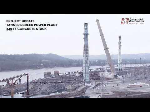 Project Update: Tanners Creek Power Plant Concrete Stack