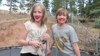 💄 TRAMPOLINE TRICKS LIPSTICK FAIL!!! 💋
