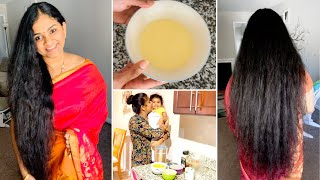 Updated Hair care routine SMOOTHIE to prevent hair loss and EXTREME hair growth mask Great result