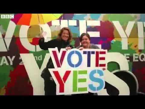 Ireland awaits same sex marriage referendum result   BBC News