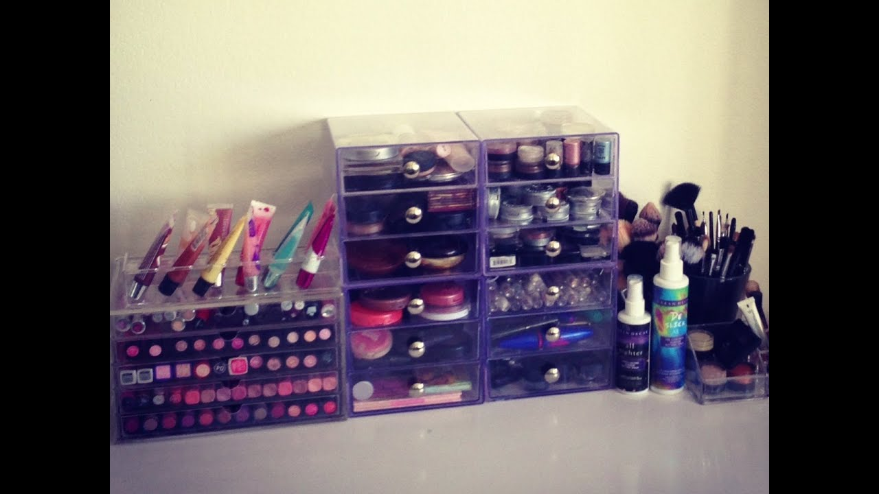 Awesome Makeup Collection: How I Organize   YouTube