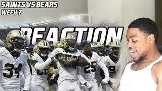 Saints Vs Bears (WK7)  Reaction
