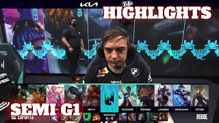 G2 vs RGE - Game 1 Highlights | Semi Finals LEC 2021 Spring Playoffs | G2 Esports vs Rogue G1