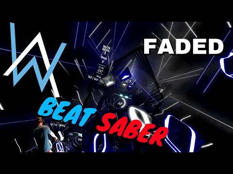 [beat saber] Alan Walker - Faded (expert) FC