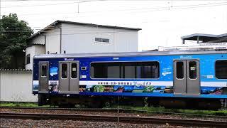 えちごトキめき鉄道ET127系V4編成構内試運転