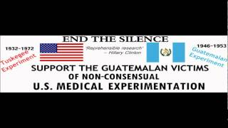 Law and Disorder Radio show with Piper Hendricks about Guatemala Victims of U.S Medical experments