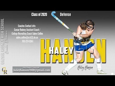 Haley Hansen 2018 Highlights, Caesar Rodney High School