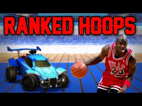 ME TORNANDO O MICHAEL JORDAN DO ROCKET LEAGUE?? (Ranked Hoops) thumbnail