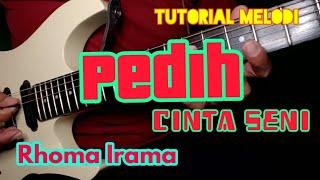Tutorial Melodi PEDIH - CINTA SENI Rhoma Irama // Tutorial Melodi Dangdut Kenangan Termudah
