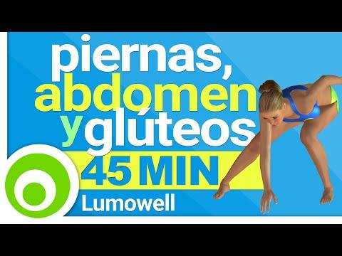 Ejercicios GAP,  45 Minutos -  Rutina de Fitness per Piernas, Abdomen y Glúteos