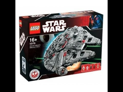 LEGO Star Wars 10179 Ultimate Collector's Millennium Falcon™ Review ...