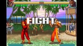 Super Street Fighter II Turbo Revival (Akuma Playthrough)