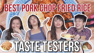 Is Din Tai Feng Pork Chop Fried Rice the Best?   Taste Testers   EP 103