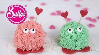 Valentinstags-Muffins - kleine süße Puschel zum Verschenken