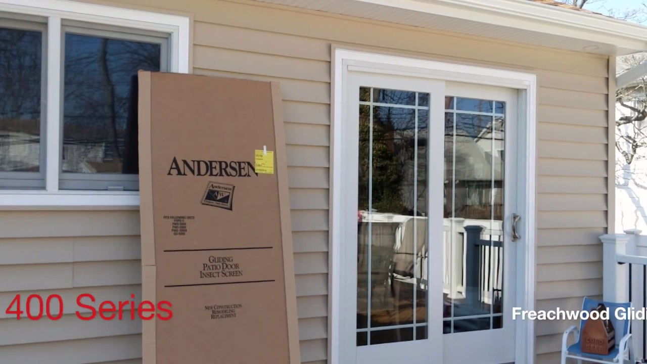 Installing Andersen Screen Door On 400 Series Frenchwood Gliding Patio