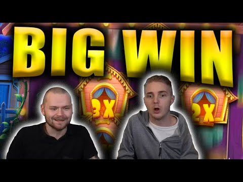 HUGE WIN On THE DOG HOUSE - Casino Slots Big Wins