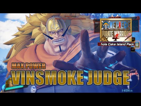 Germa 66 Judge Max Level Showcase | One Piece Pirate Warriors 4 Gameplay [PC] [DLC] |
