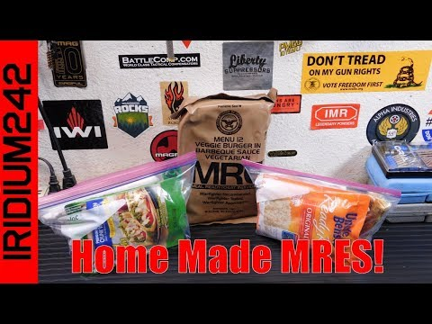 Make Your Own MREs / Homemade MREs
