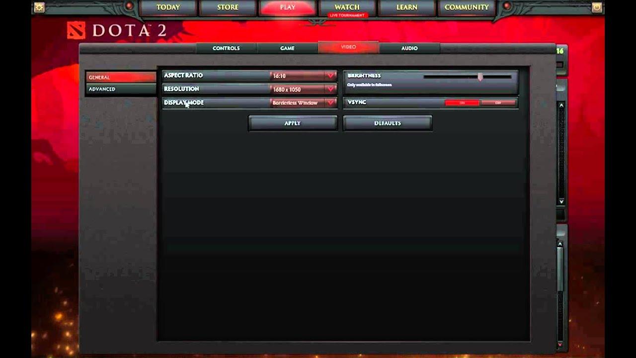 dota2 main menu lag fix youtube
