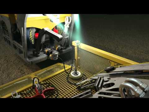 J2 Subsea Tool Changer Operation  3D Animation