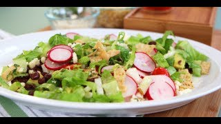 Vegetarian Taco Salad Recipe | Vegetarian Recipes | Popsugar Food