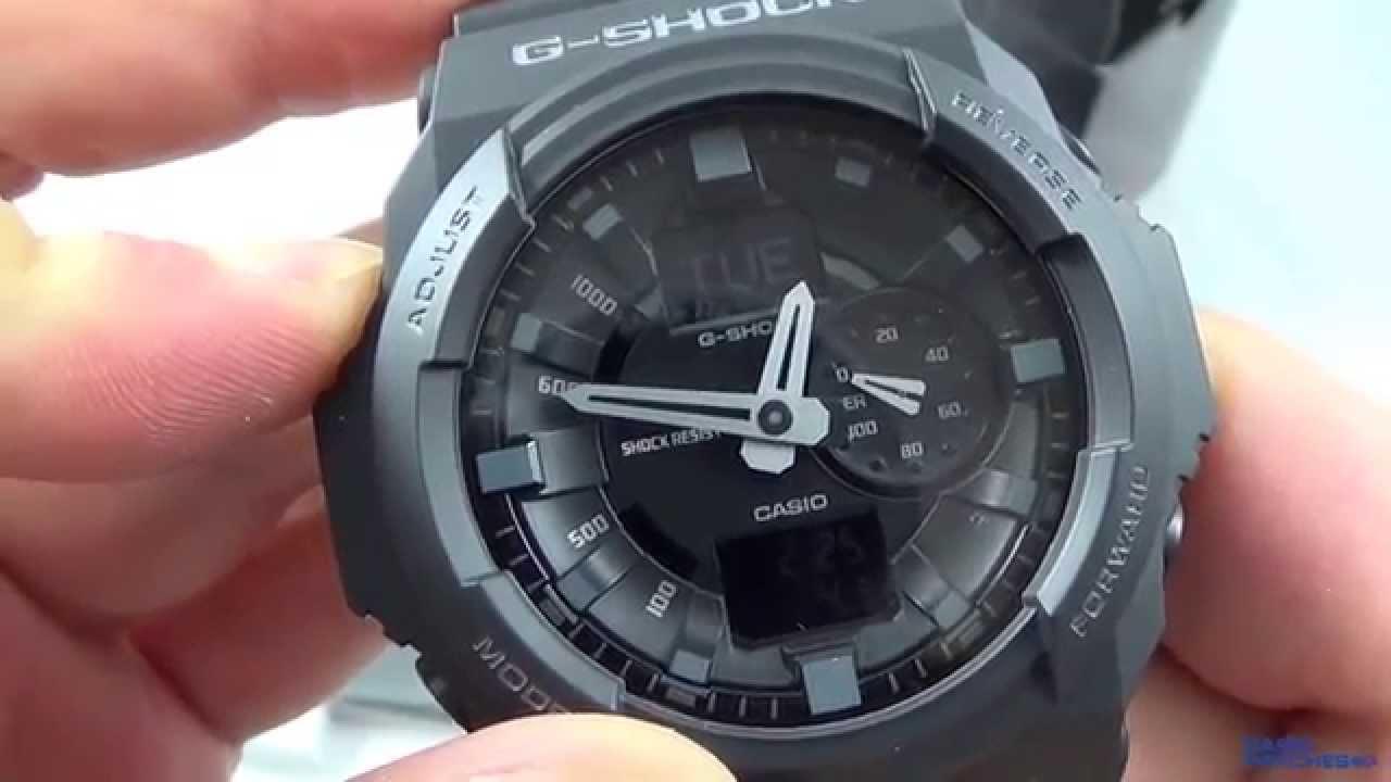 779da95f160 Casio - G-Shock GA-150-1A - YouTube
