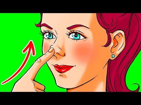 10 Секунд Давите на Кончик Носа и Увидите, Что Произойдет
