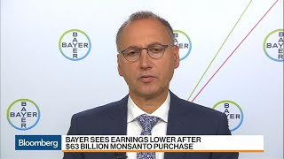 Bayer CEO on Lower Earnings, Monsanto Purchase, Roundup