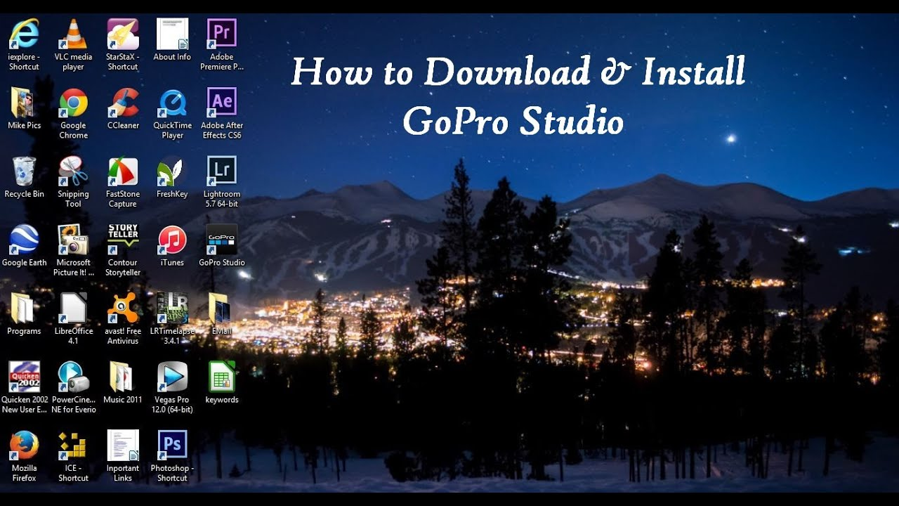 gopro studio app for windows