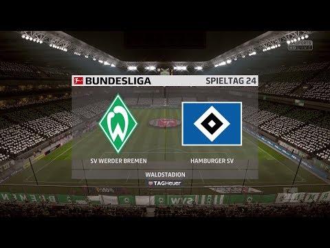 FIFA 18 Bundesliga Prognose | SV Werder Bremen- Hamburger SV