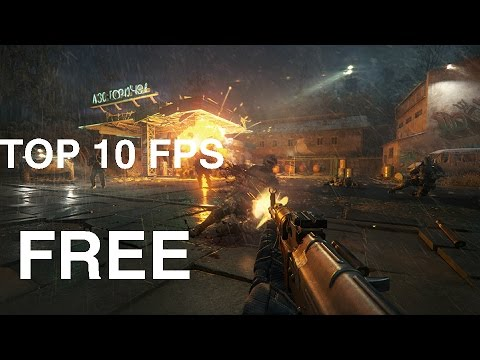 TOP 10 FREE TO PLAY PC FIRST AND THIRD PERSON SHOOTERS ON STEAM! 2017
