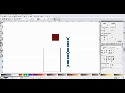 Inkscape Tutorial - Align and Distribute