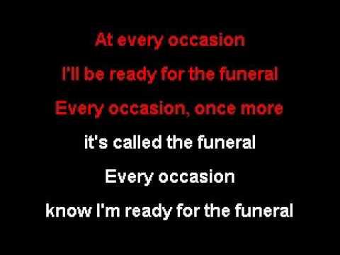 Band Of Horses - The Funeral - Karaoke