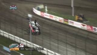Knoxville Raceway 305 Highlights 7/1/17