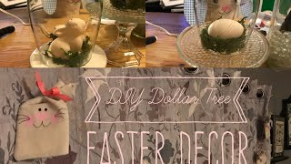 DIY Dollar Tree Easter Decor
