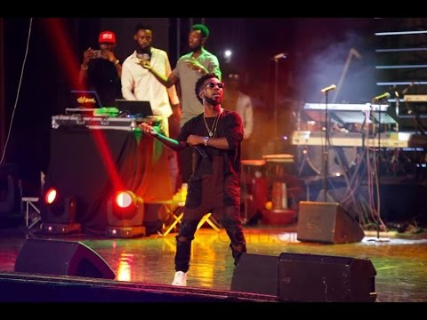 Bisa Kdei - Performance @ Rapperholic 2016 | GhanaMusic.com Video