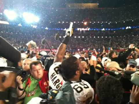 Saints Win Super Bowl XLIV