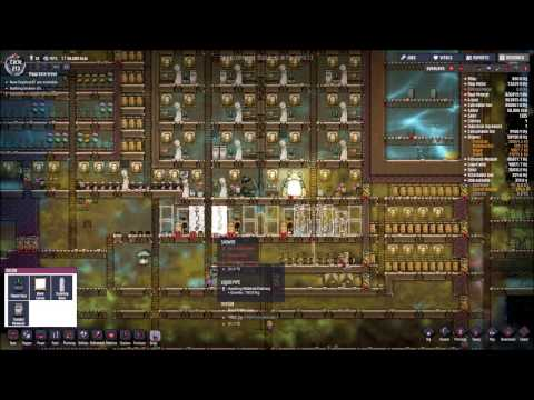 Oxygen Not Included ep. 26 (Cycle 211) Setting up showers, lavatories and fertilizer makers!!