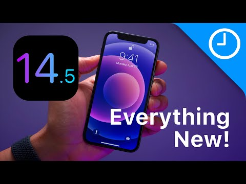 iOS 14.5 Changes / Features - Everything New!