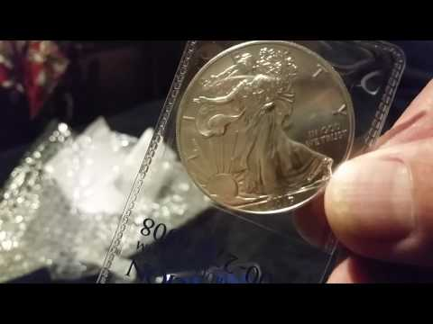 Unboxing 5 More 2017 American Eagle Coins