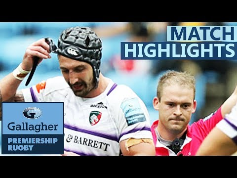 Wasps V Leicester Tigers | Spencer Sees Red In Eight-Try Thriller | Gallagher Premiership