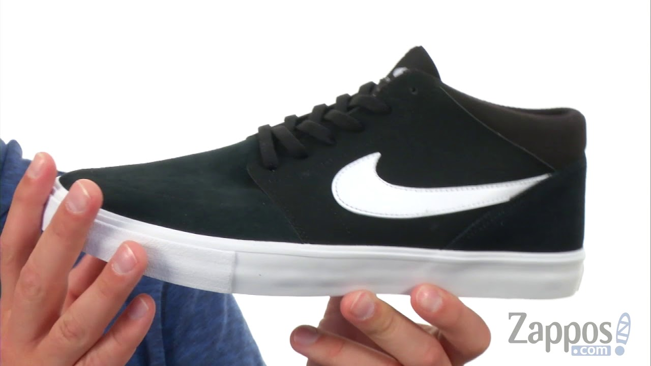 973df21c3 Nike SB Solarsoft Portmore II Mid SKU  8929986 - YouTube